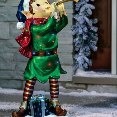 The Holiday Heralding Twinkling Elf