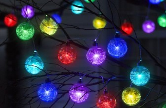 The 9′ Light Show Ornament Strand