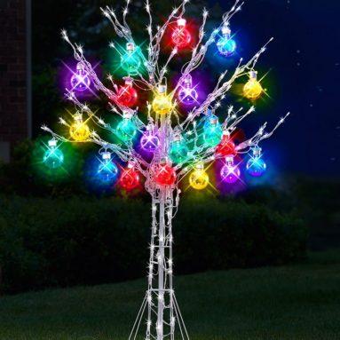 The 6′ Ultrabright Ornament Tree