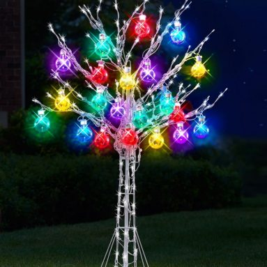 The 6′ Ultrabright Ornament Tree