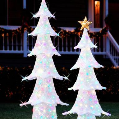 The Pop Up Lightshow Outdoor Tree