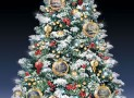 The Thomas Kinkade Snow Globe Tabletop Tree