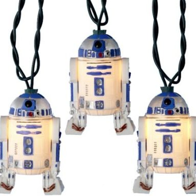 Kurt S. Adler 10-Light Star Wars R2D2 Light Set