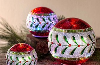 Color-Changing LED Table Christmas Balls