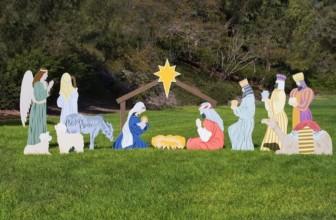 Complete Outdoor Nativity Set