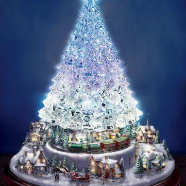 Crystal Tabletop Christmas Tree