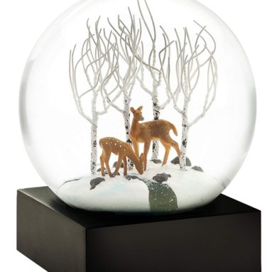 Deer in The Woods Snow Globe