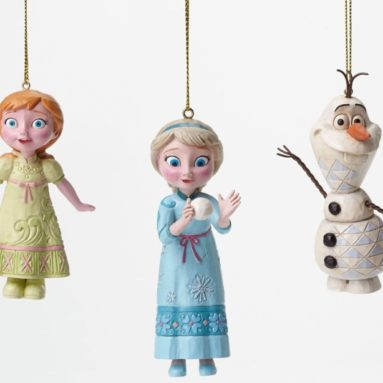 Disney Frozen Elsa, Anna, Olaf Ornament Set