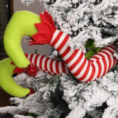 Elf Legs Christmas Decorations Stuffed Legs Christmas