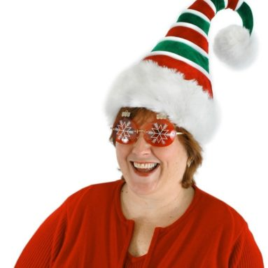 Elope Ridged Santa Hat