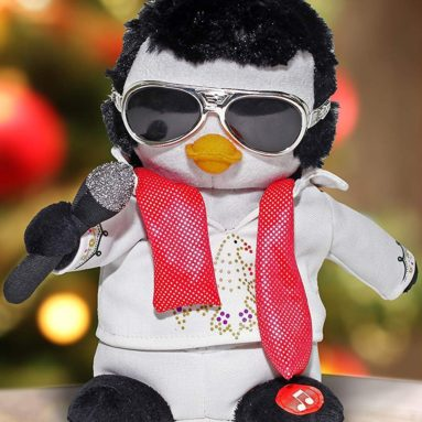 Elvis Presley 9 in. Animated and Musical Figure