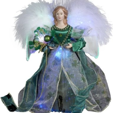 Fiber Optic Irish Angel Treetop