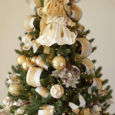 Gold Angel Tree Topper