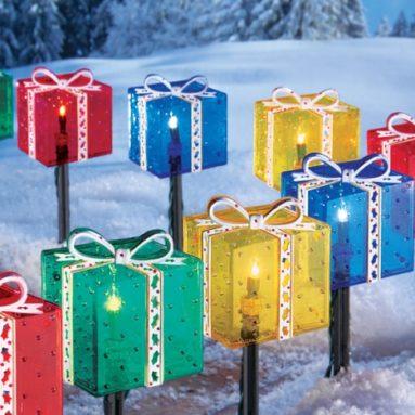 Holiday Gift Box Pathlight Set