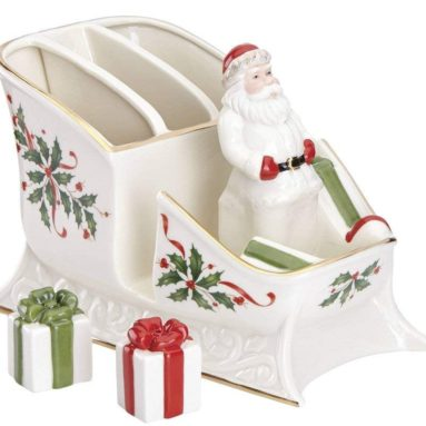 Holiday Santa Sleigh Caddy