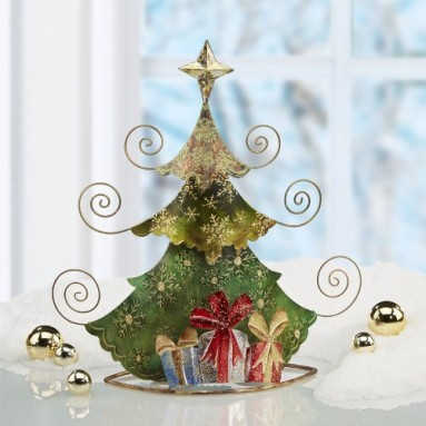 Holiday Tree Table Top Photo Holder