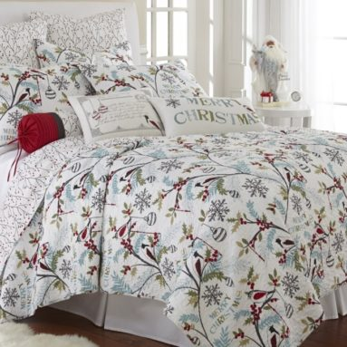Holly Full/Queen Quilt Set