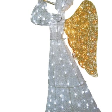 Illuminati Collection 60″ Crystal Angel