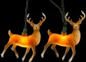 Kurt Adler 10-Light 4.5-Inch Plastic Deer Light Set