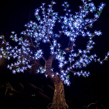 LED Light Cherry Artificial Tree