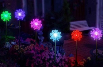 LED Snowflake Lights 3D Outdoor Christmas Decoration Solar