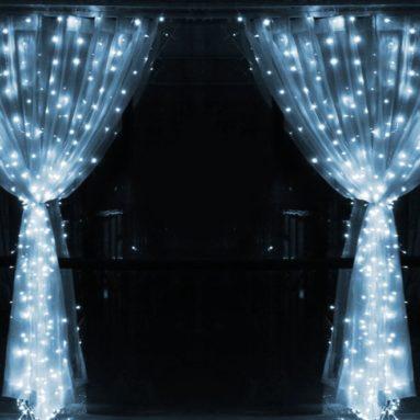Leapair Curtain Lights 600LED