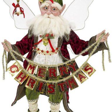 Mark Roberts Christmas Greetings Fairy – Large