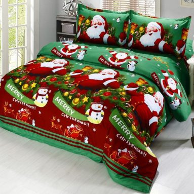 Merry Christmas Santa Claus Comfort Bedding Sets