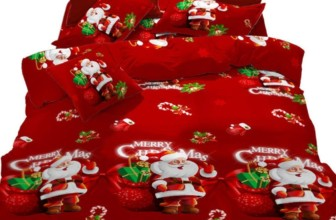 Merry Christmas Santa Claus Duvet Cover Set