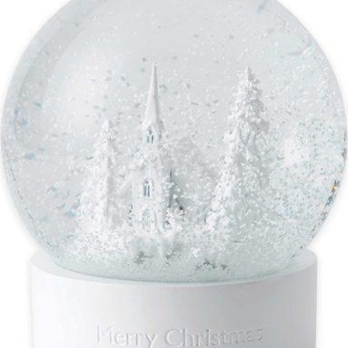 Merry Christmas Snow Globe