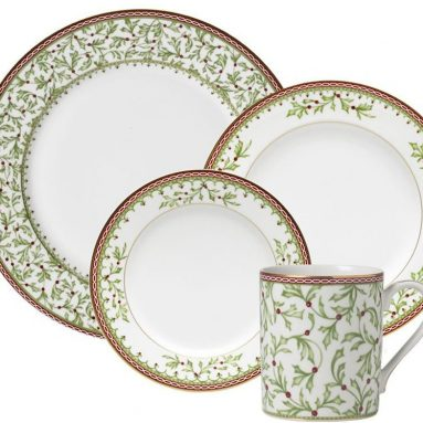 Mikasa Holiday Traditions 16 Piece Dinnerware Set
