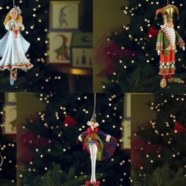 Nutcracker Ornament Set