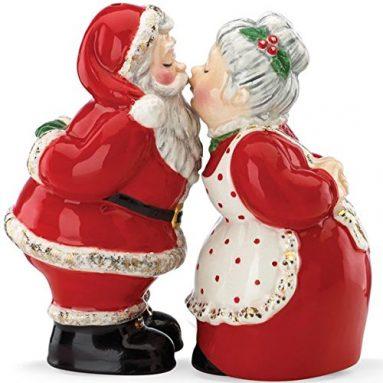 Once Upon a Christmas Santa Salt & Pepper Set