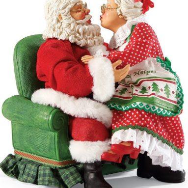 Possible Dreams Santas All I Want for Christmas Santa Figurine