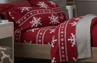Printed Cotton Flannel Sheet Set