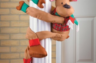 Reindeer Christmas Greeter Decoration