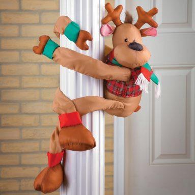 Reindeer Christmas Greeter Decoration