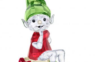 SWAROVSKI Santa's Elf Crystal Figurine