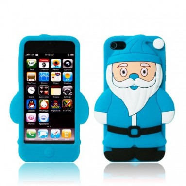 Santa Claus soft silicone case for iphone 5