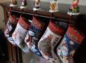 Santa and Snowman Christmas Stockings