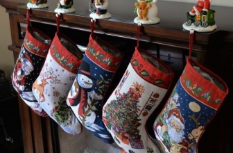 Santa and Snowman Christmas Stockings