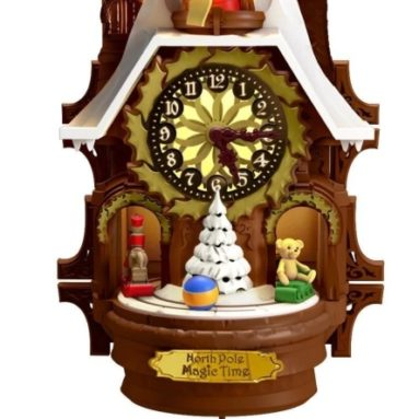 Santa's Magic Cuckoo Clock Ornament