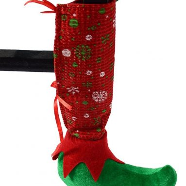 Set of 4 pcs Christmas Chair Socks