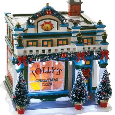 Snow Village, the Sounds of Christmas Ceramic House