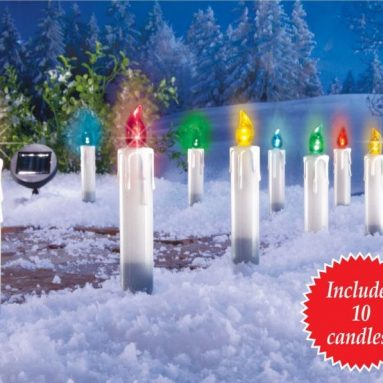Solar Candle Color Changing Pathlights