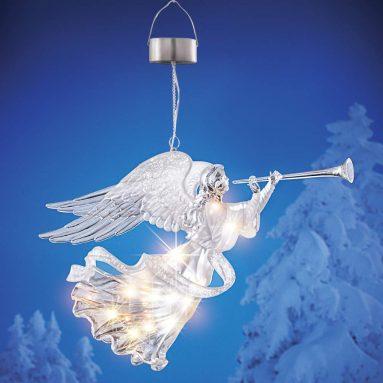 Solar Crystal Angel Dangler