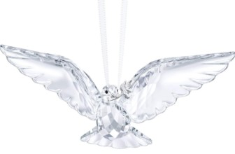 Swarovski Clear Peace Dove Ornament