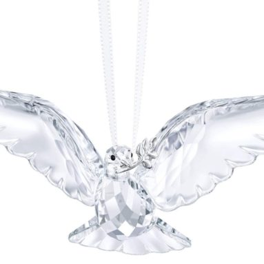 Swarovski Clear Peace Dove Ornament