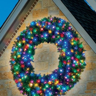 The 60″ Prelit Ultrabright LED Wreath