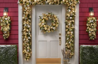 The Cordless Prelit Silver And Gold Holiday Trim